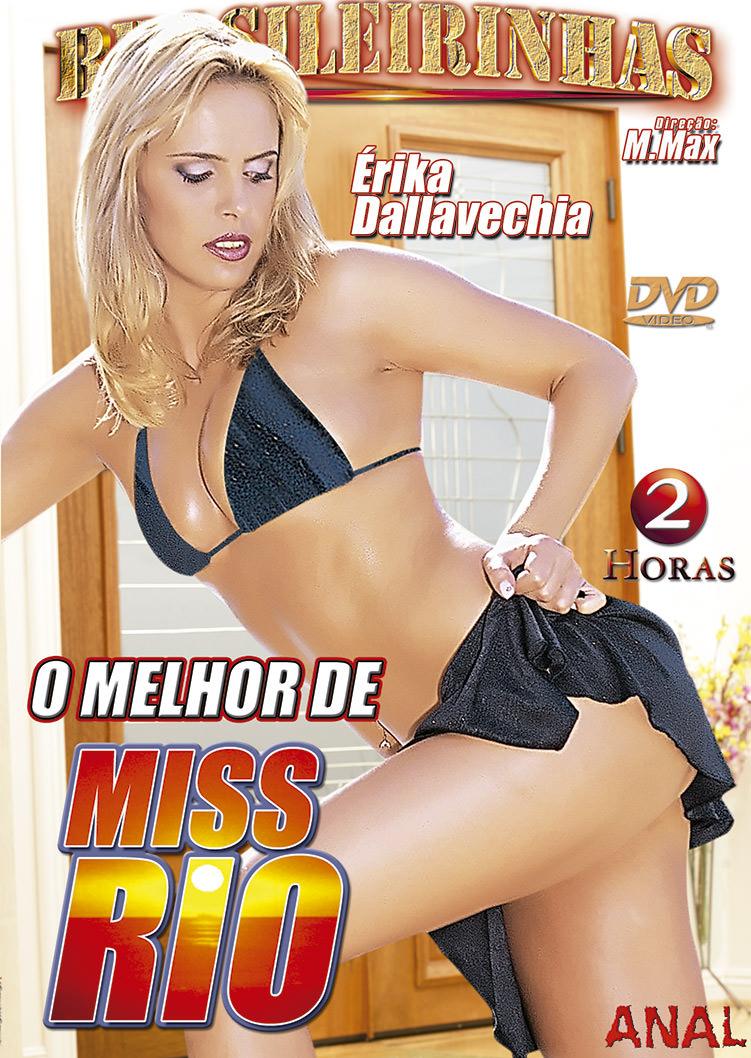 Capa frente do filme O Melhor de Miss Rio