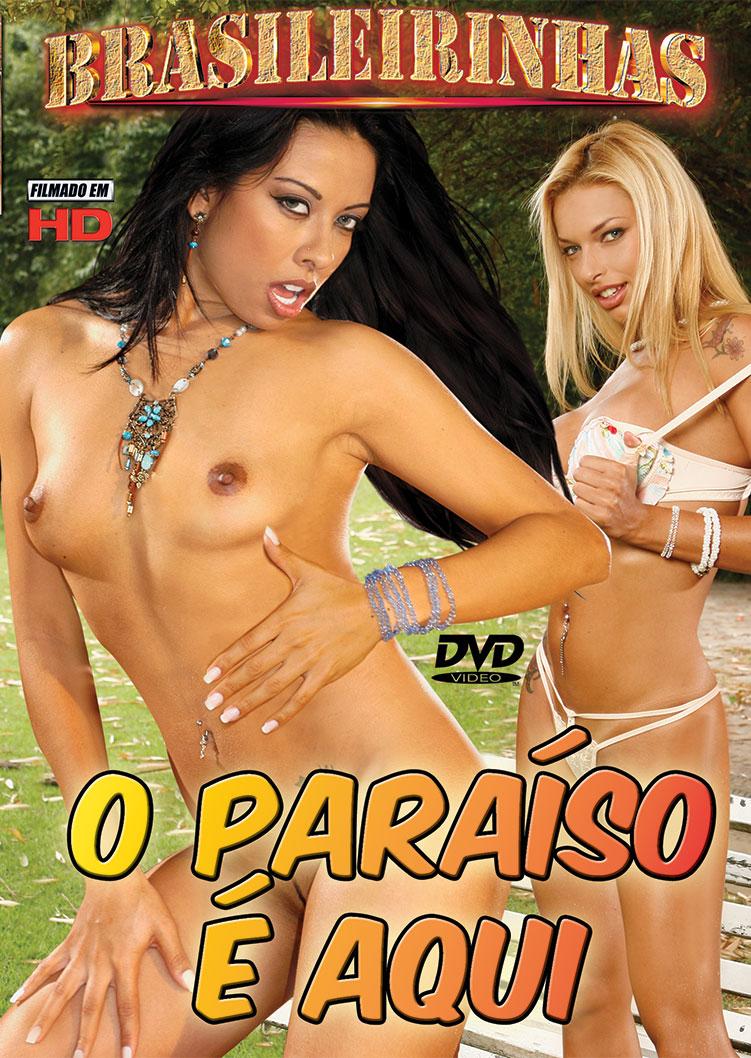 Capa frente do filme O Paraíso É Aqui