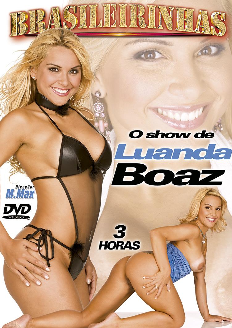 Capa frente do filme O Show de Luanda Boaz