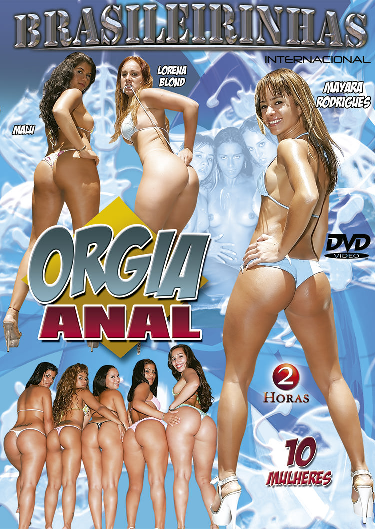 Capa frente do filme Orgia Anal