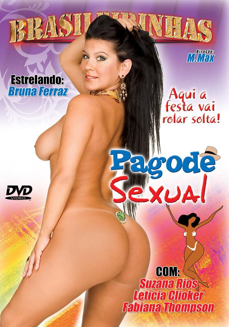 Capa frente do filme Pagode Sexual