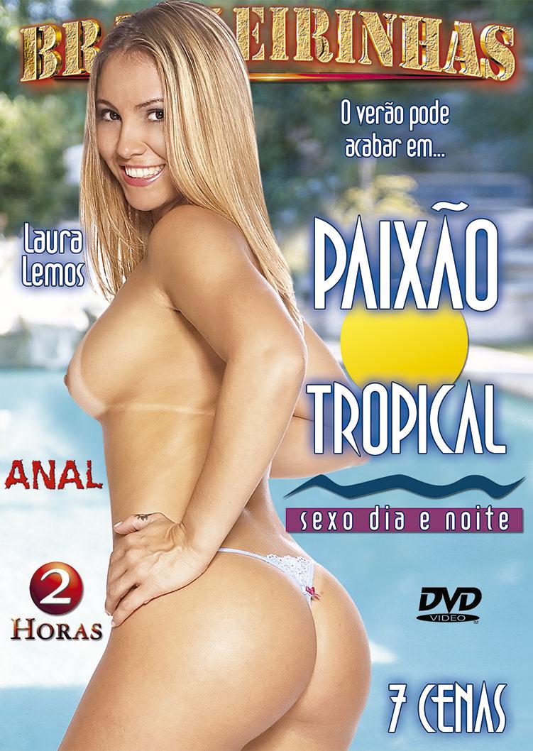 Capa frente do filme Paixão Tropical