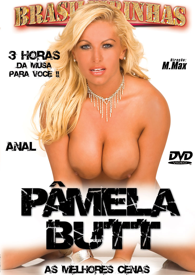 Capa frente do filme Pamela Butt - As Melhores Cenas