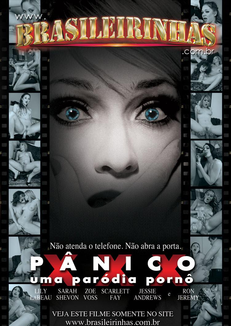 Capa frente do filme Pânico XXX