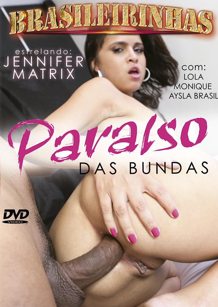 Capa Hard do filme Paraíso das Bundas