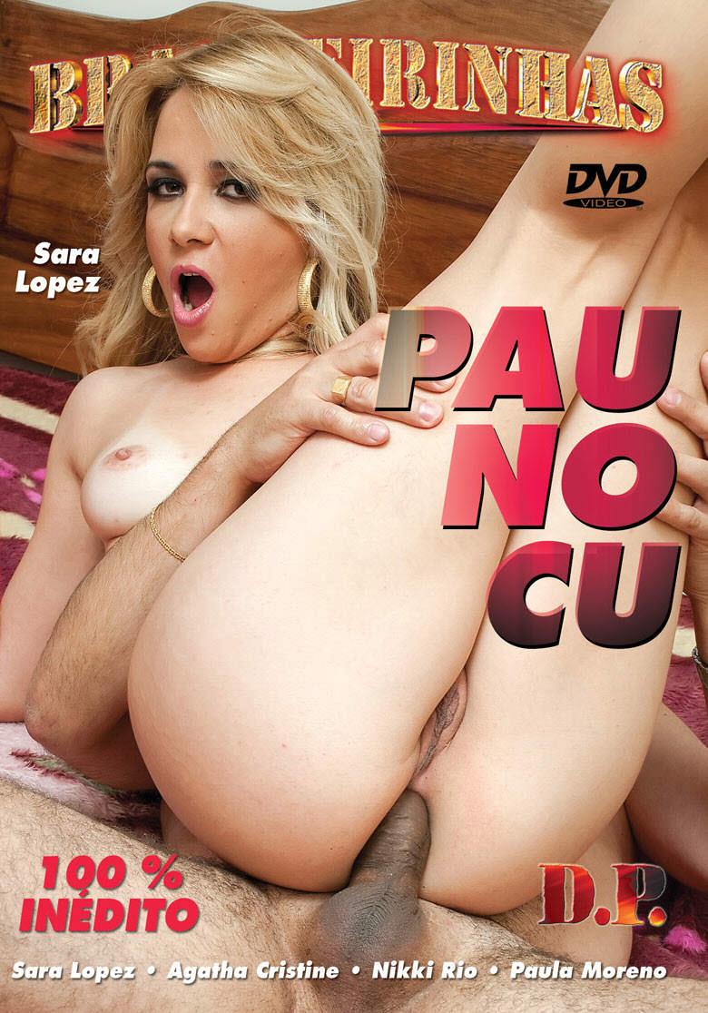 Capa frente do filme Pau no Cu