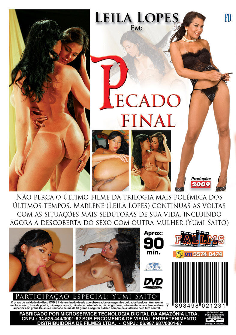 Capa tras do filme Pecado Final