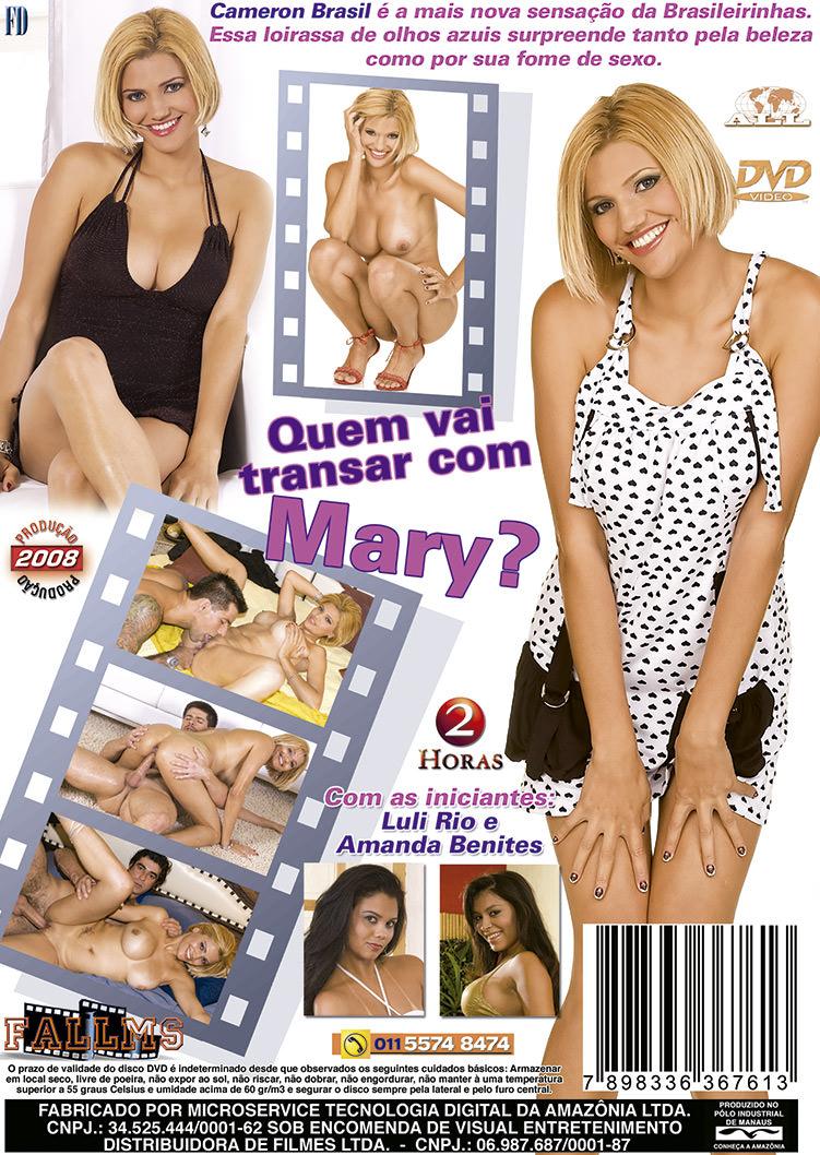 Capa tras do filme Quem Vai Transar Com Mary
