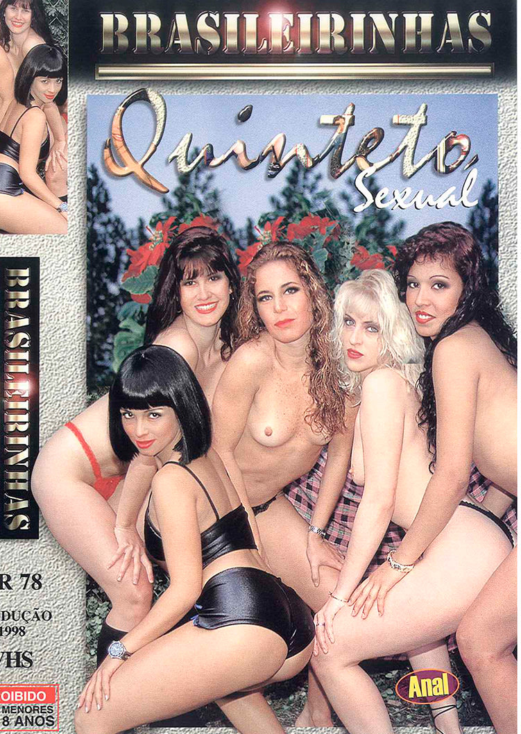 Capa frente do filme Quinteto Sexual