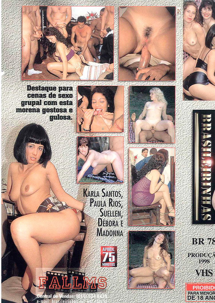 Capa tras do filme Quinteto Sexual