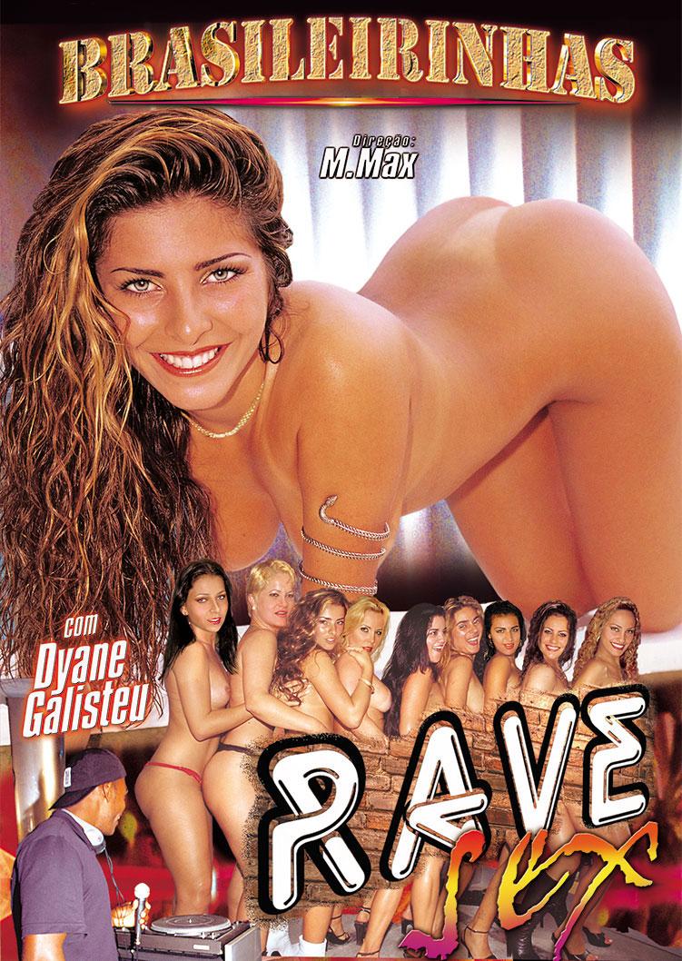 Capa frente do filme Rave Sex