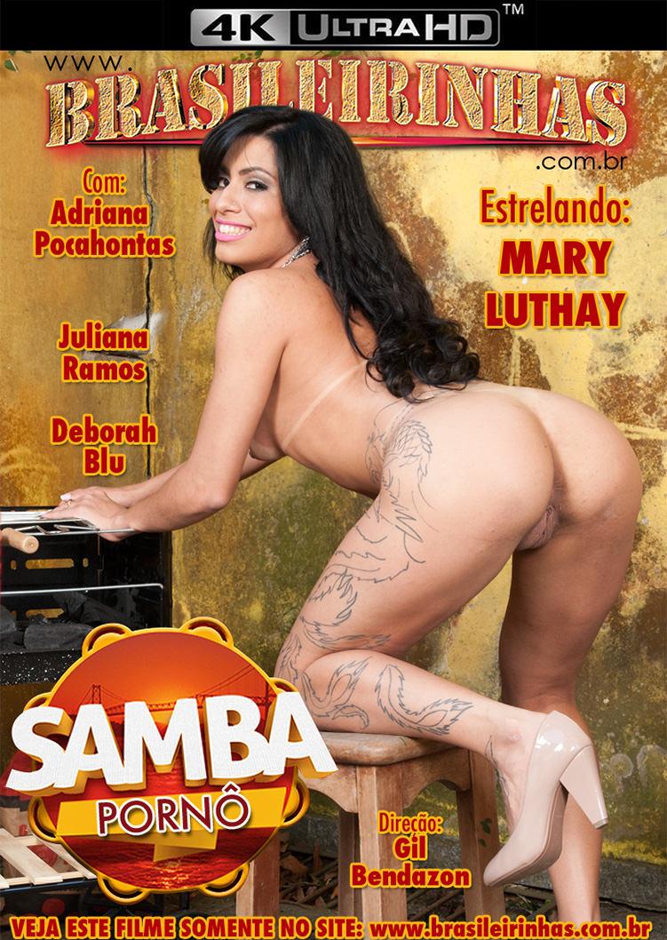 Capa Hard do filme Samba Pornô 4k