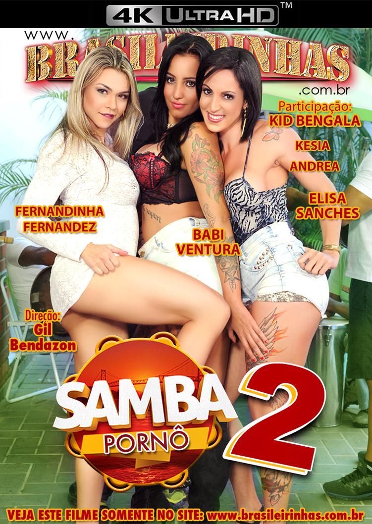Capa Hard do filme Samba Pornô 2   4K
