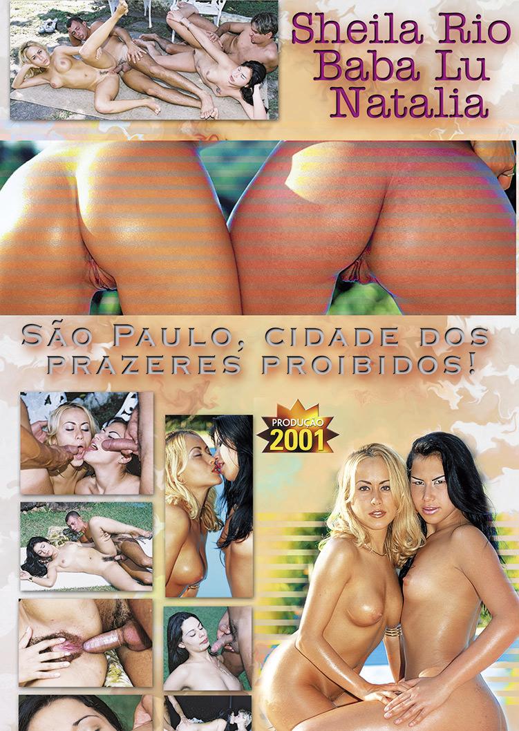 Capa tras do filme Sampa, Sexo e Poder