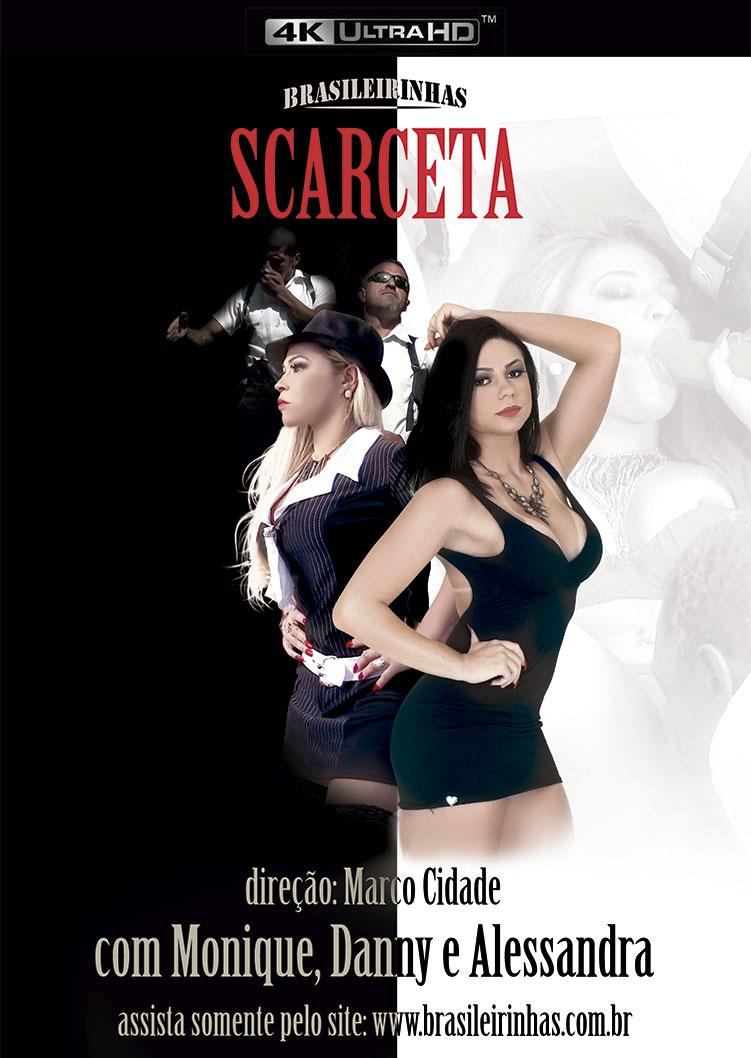 Capa frente do filme Scarceta