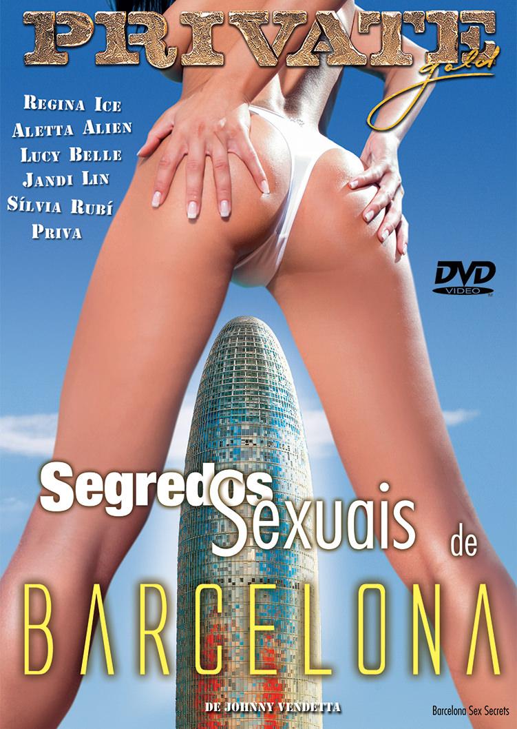 Capa frente do filme Segredos Sexuais de Barcelona
