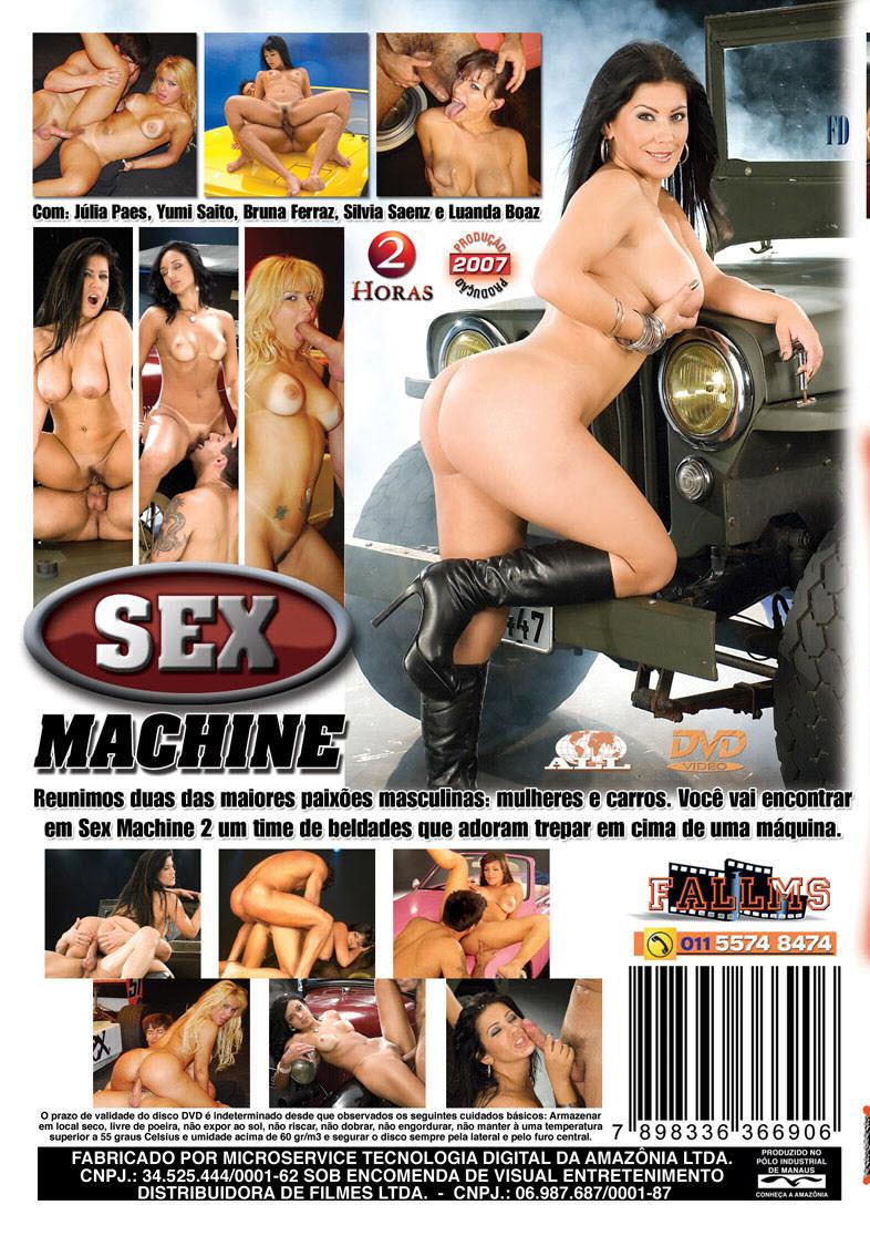 Capa tras do filme Sex Machine 2