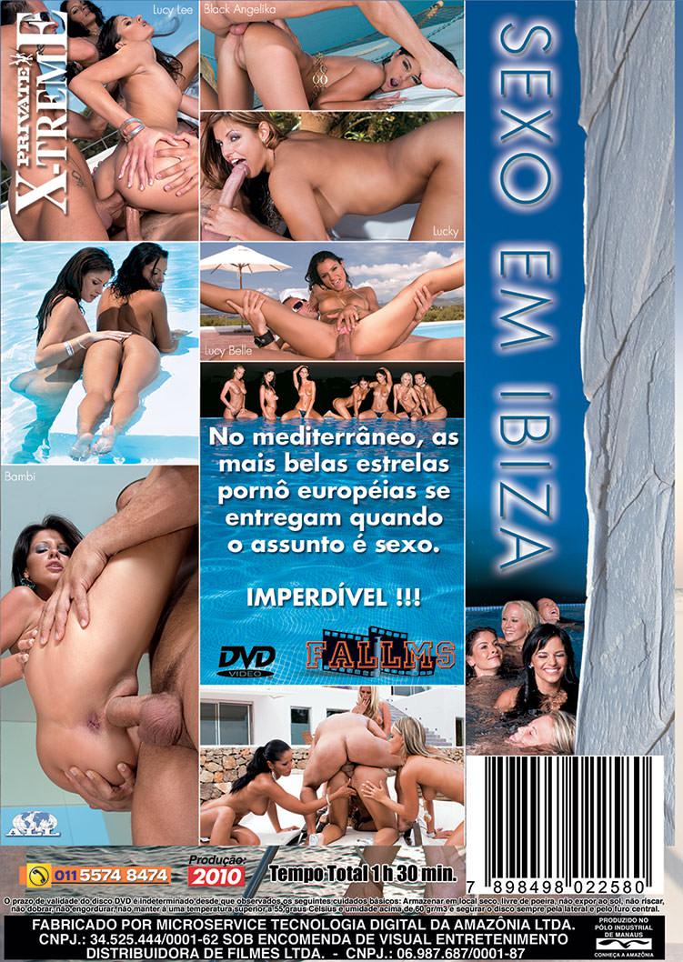 Capa tras do filme Sexo em Ibiza