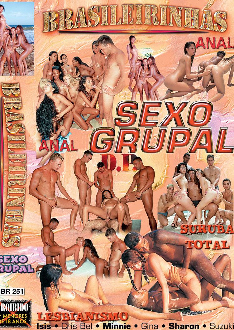 Capa frente do filme Sexo Grupal