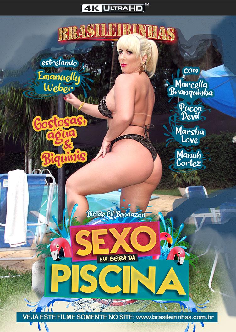 Capa frente do filme Sexo na Beira da Piscina