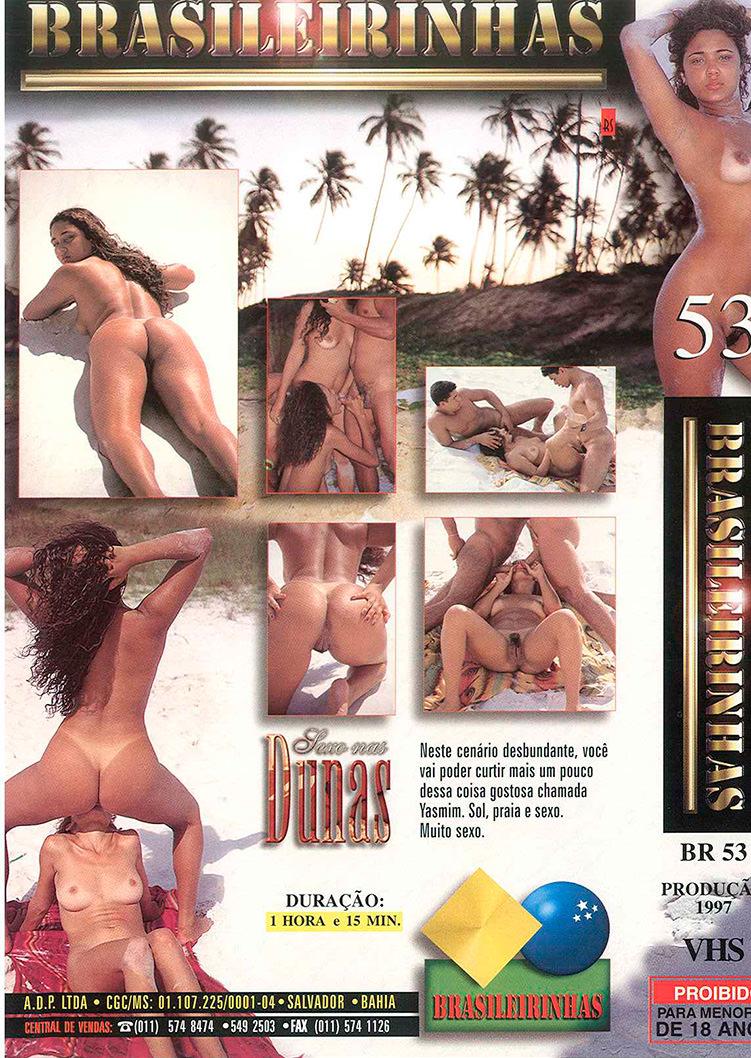 Capa tras do filme Sexo nas Dunas