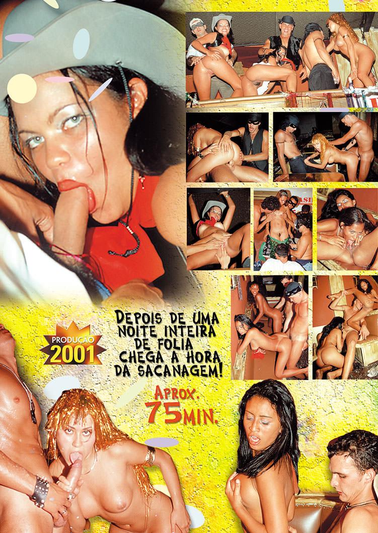 Capa tras do filme Sexo no Salão 2001