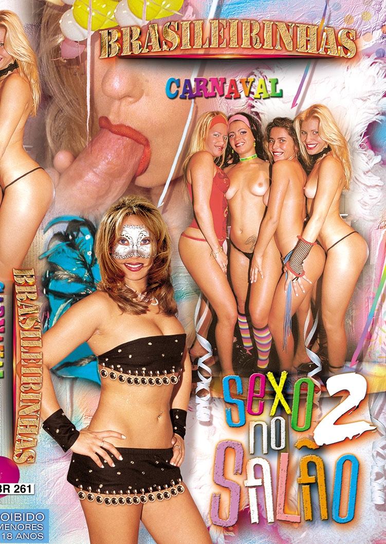 Capa frente do filme Sexo no Salão 2003 Vol 2