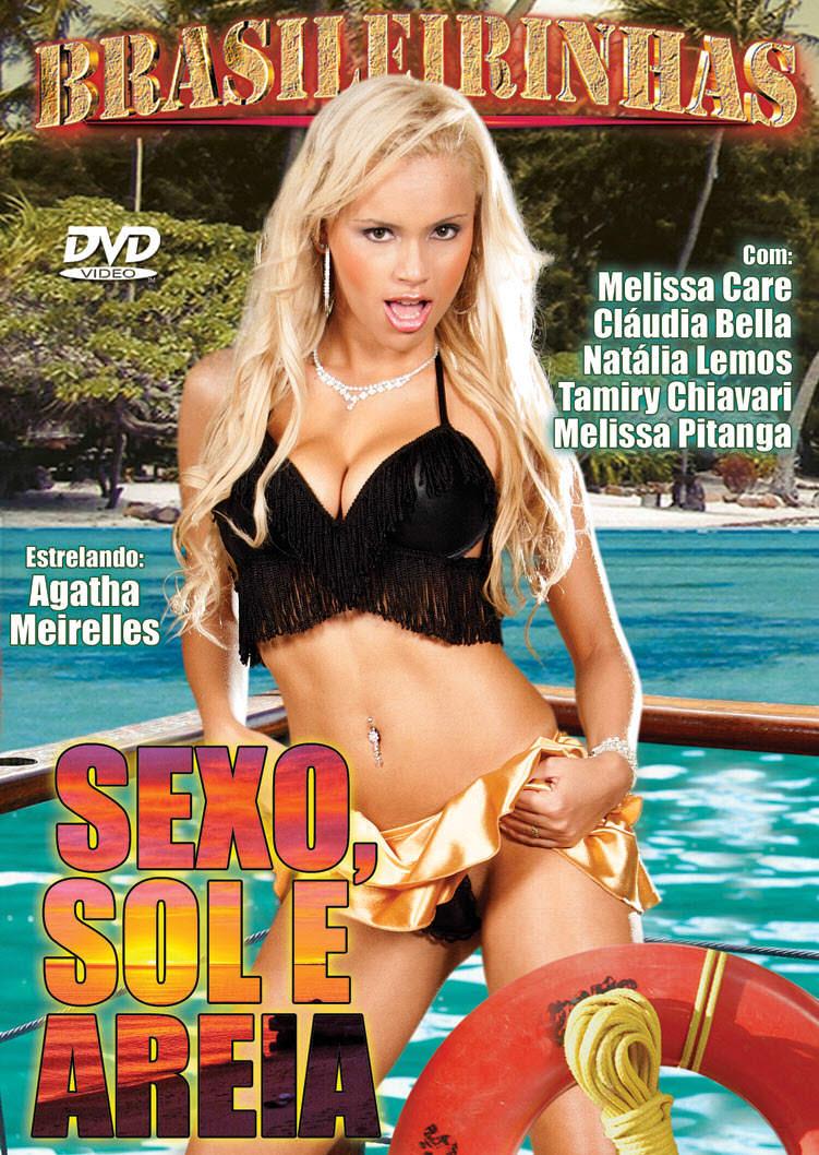 Capa frente do filme Sexo Sol e Areia