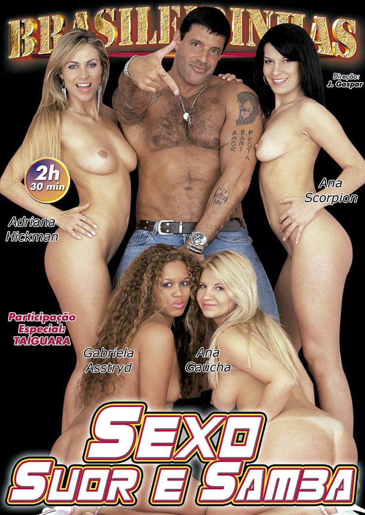 Capa frente do filme Sexo Suor E Samba