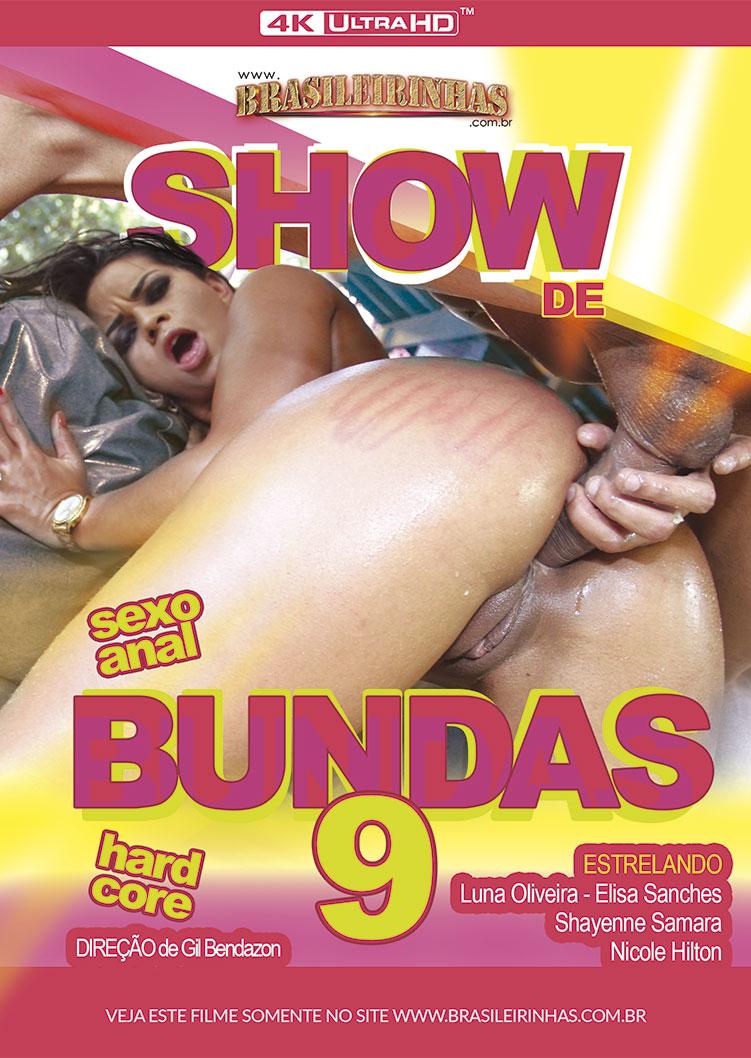 Capa frente do filme Show de Bundas 9