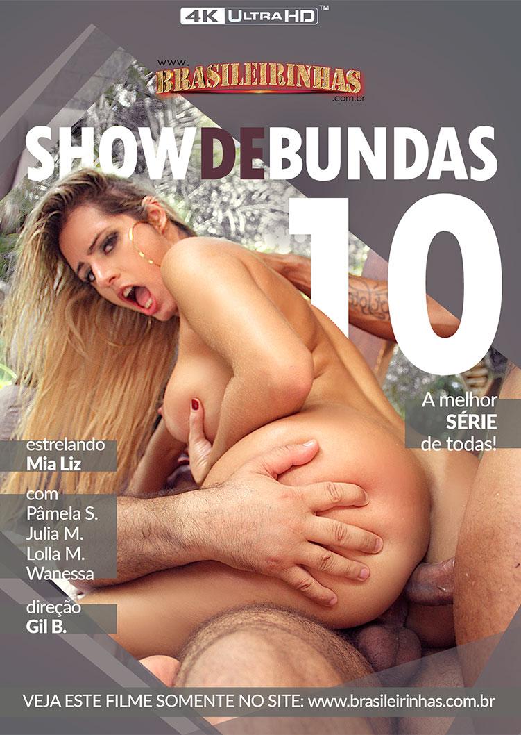 Capa frente do filme Show de Bundas 10