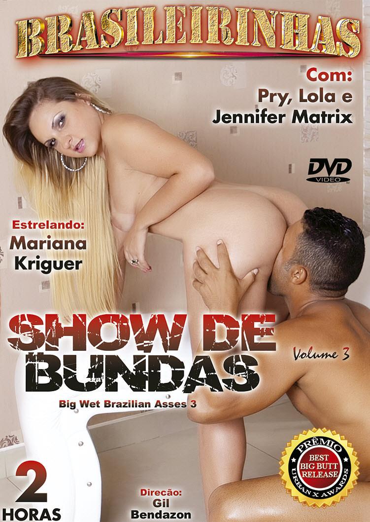 Capa frente do filme Show De Bundas 3