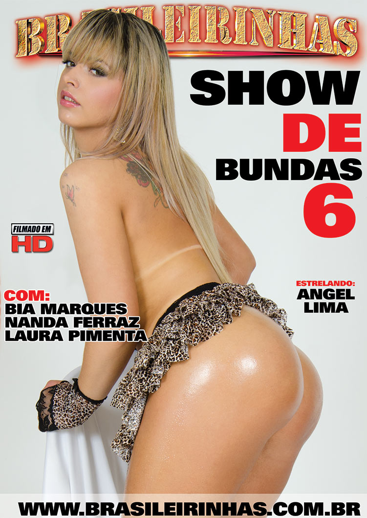 Capa frente do filme Show de Bundas 6