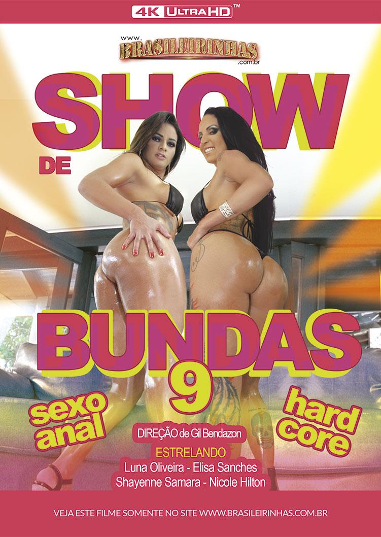 Capa Hard do filme Show de Bundas 9