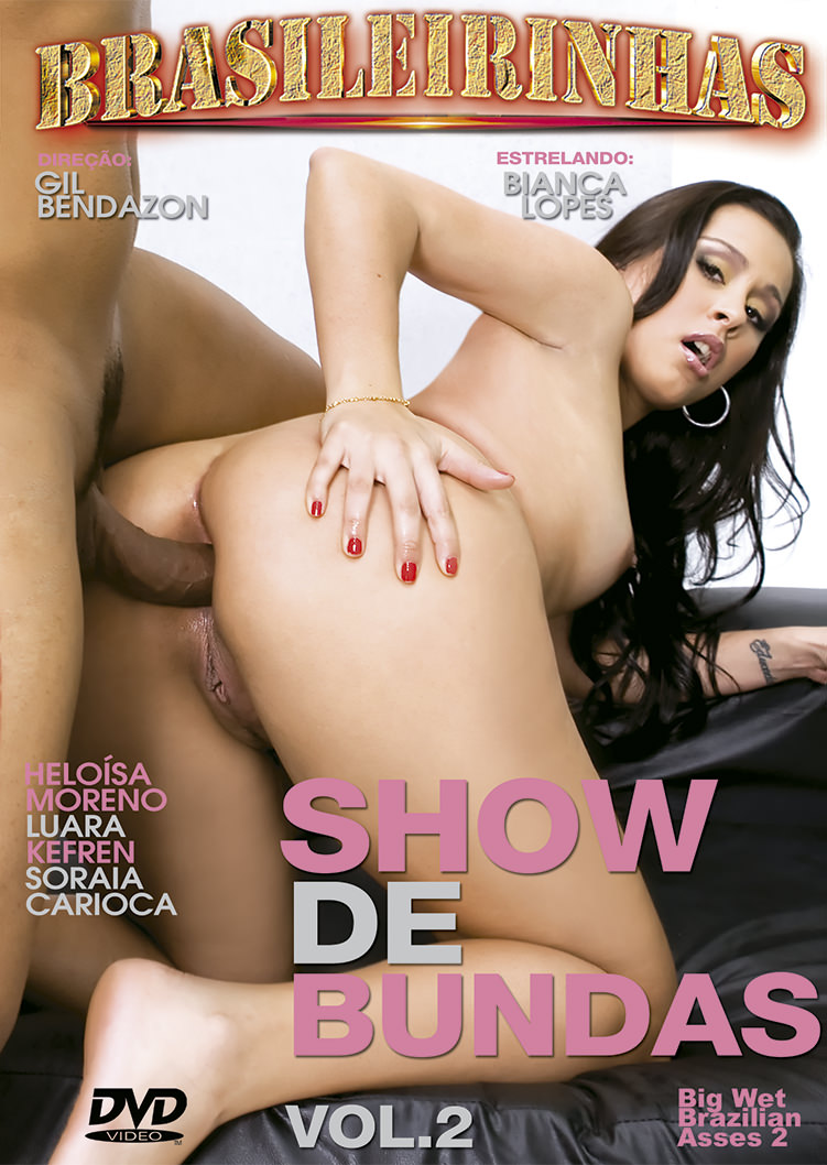Capa Hard do filme Show De Bundas 2
