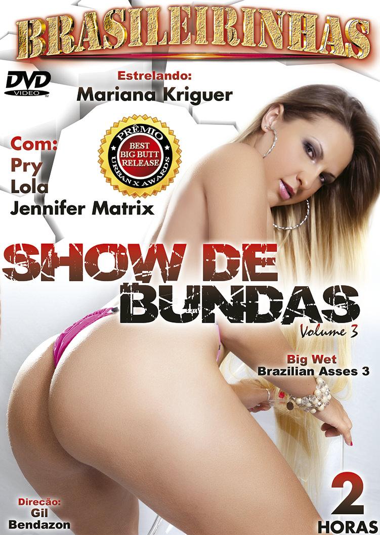 Capa Hard do filme Show De Bundas 3