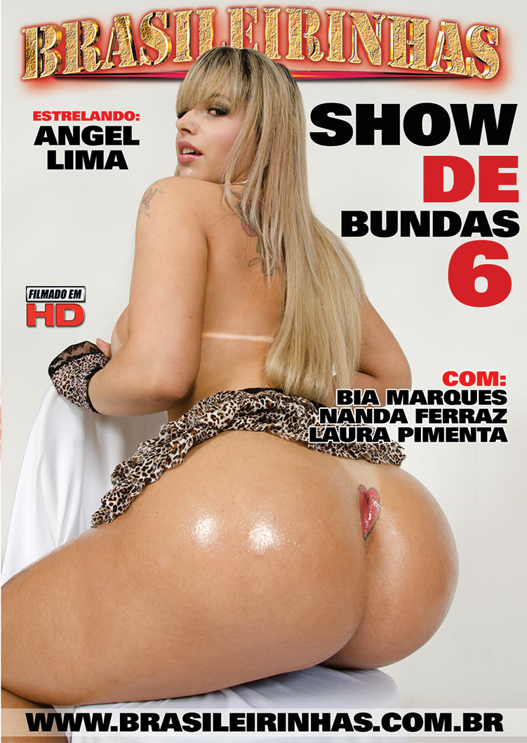 Capa Hard do filme Show de Bundas 6