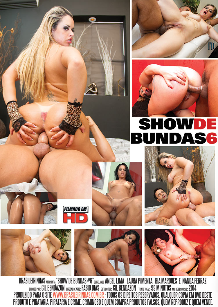 Capa tras do filme Show de Bundas 6