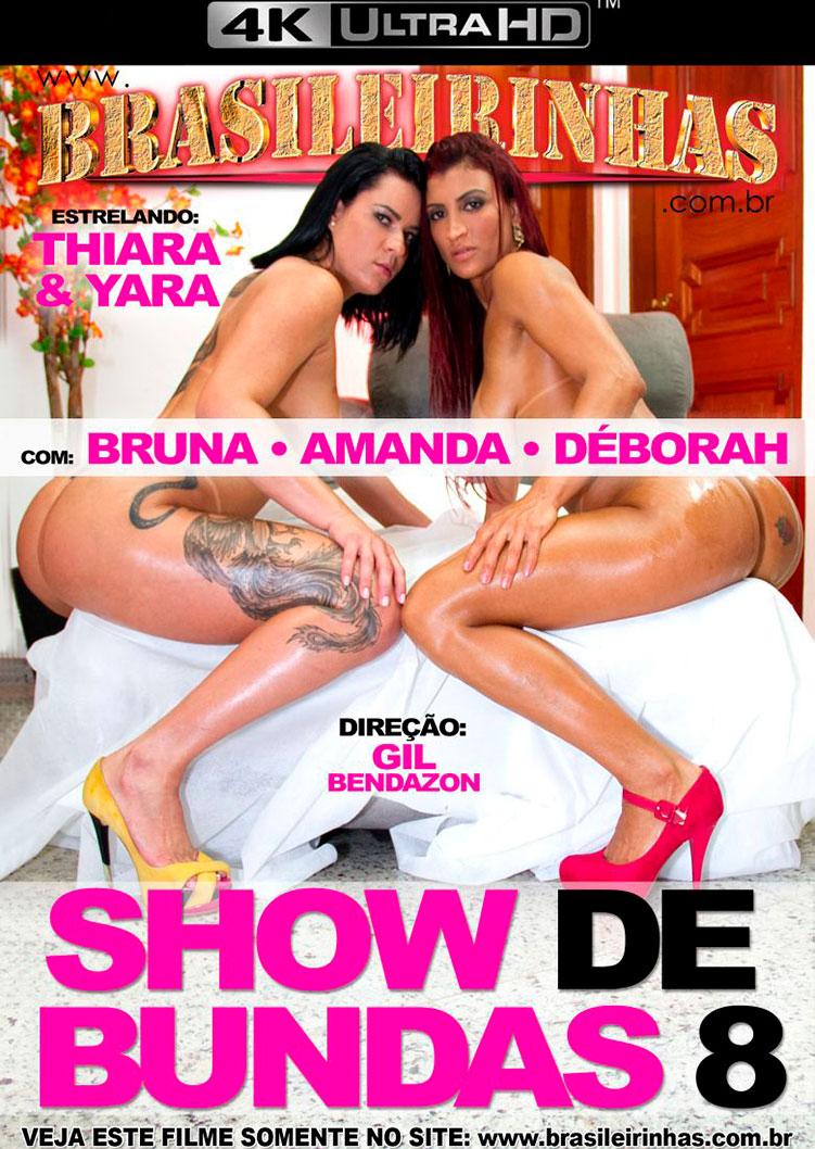 Capa Hard do filme Show de Bundas 8 4k