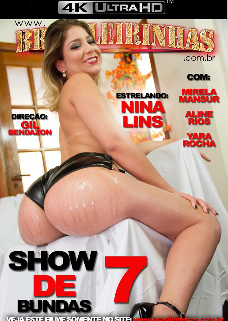 Capa Hard do filme Show de Bundas 7 4k