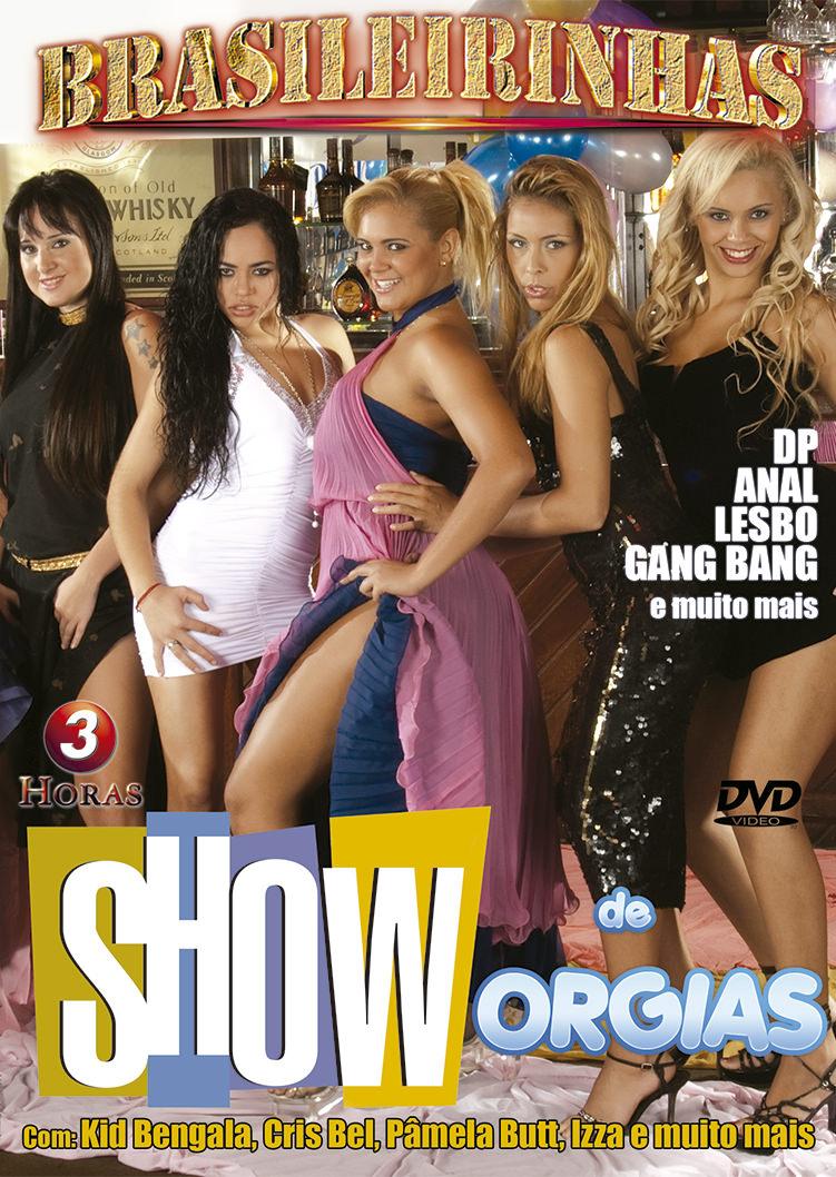 Capa frente do filme Show de Orgias