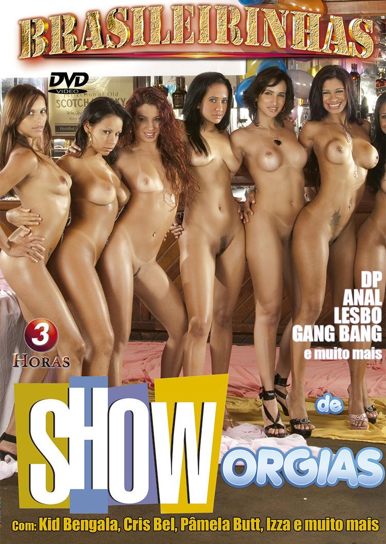 Capa Hard do filme Show de Orgias