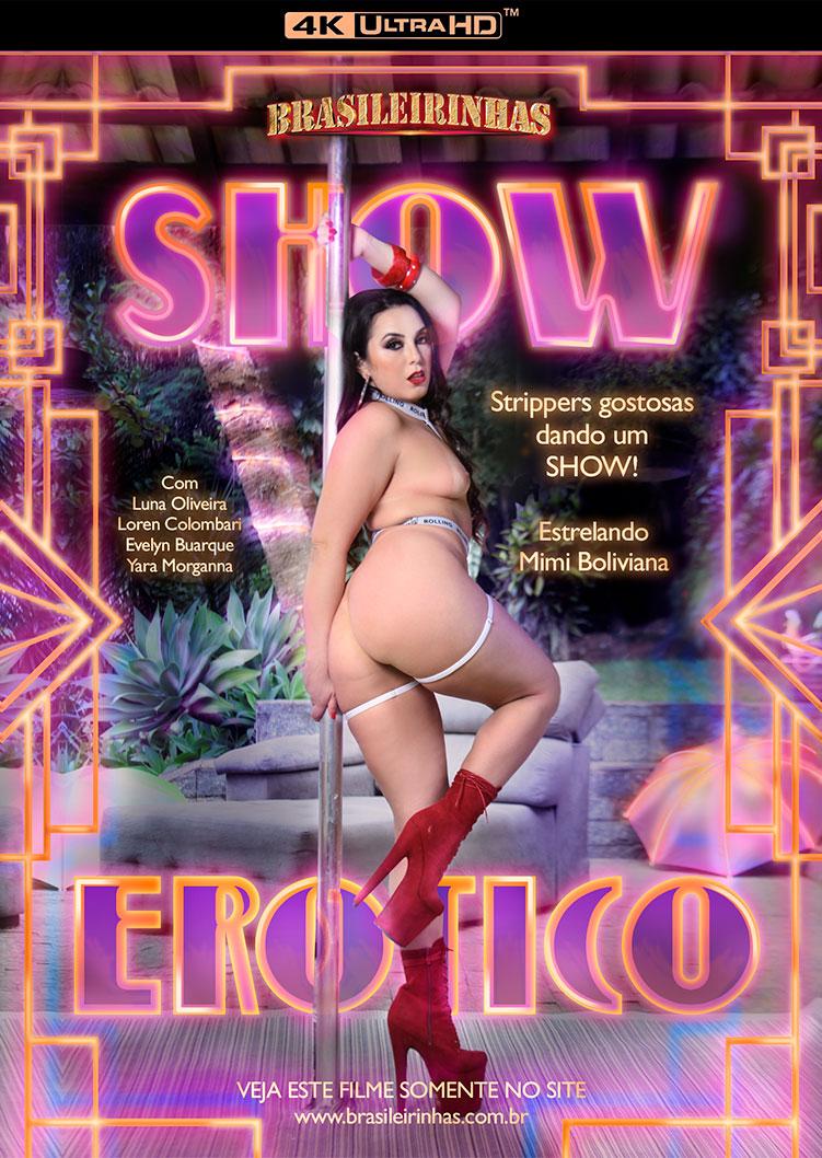 Capa frente do filme Show Erótico