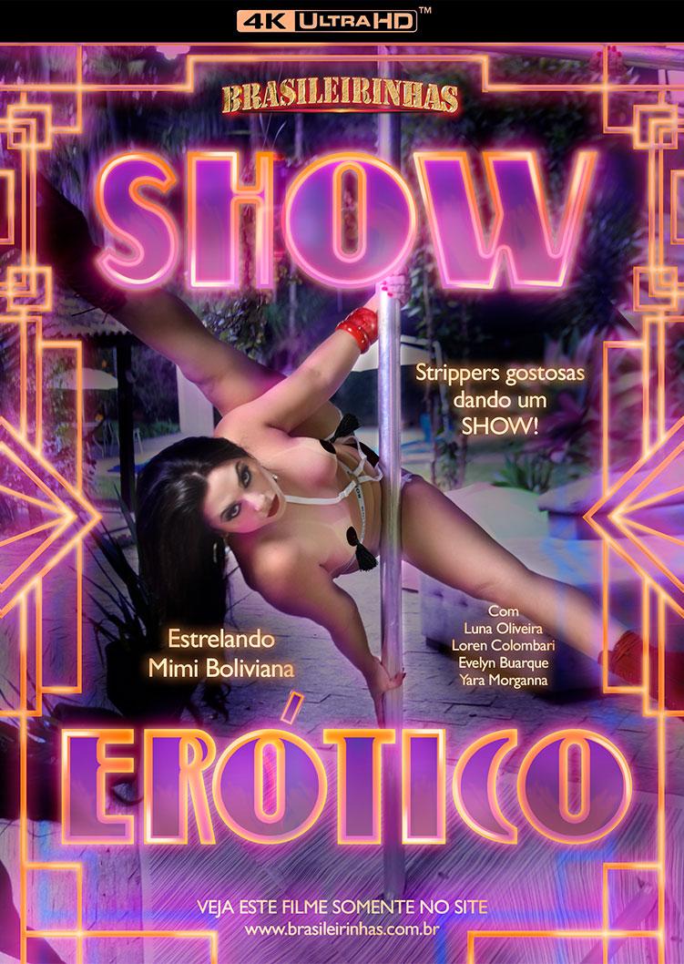 Capa Hard do filme Show Erótico