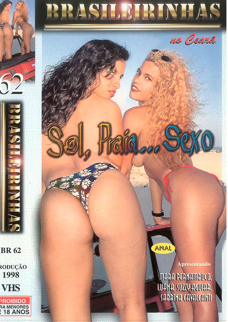 Capa frente do filme Sol Praia Sexo