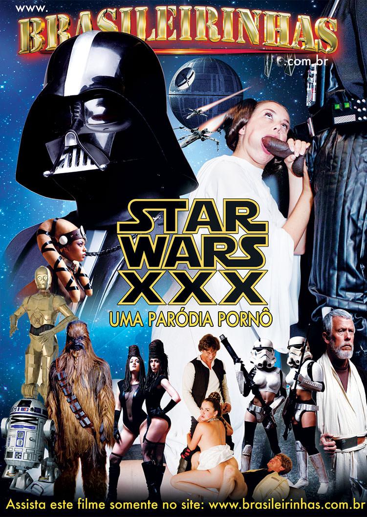 Capa Hard do filme Star Wars XXX