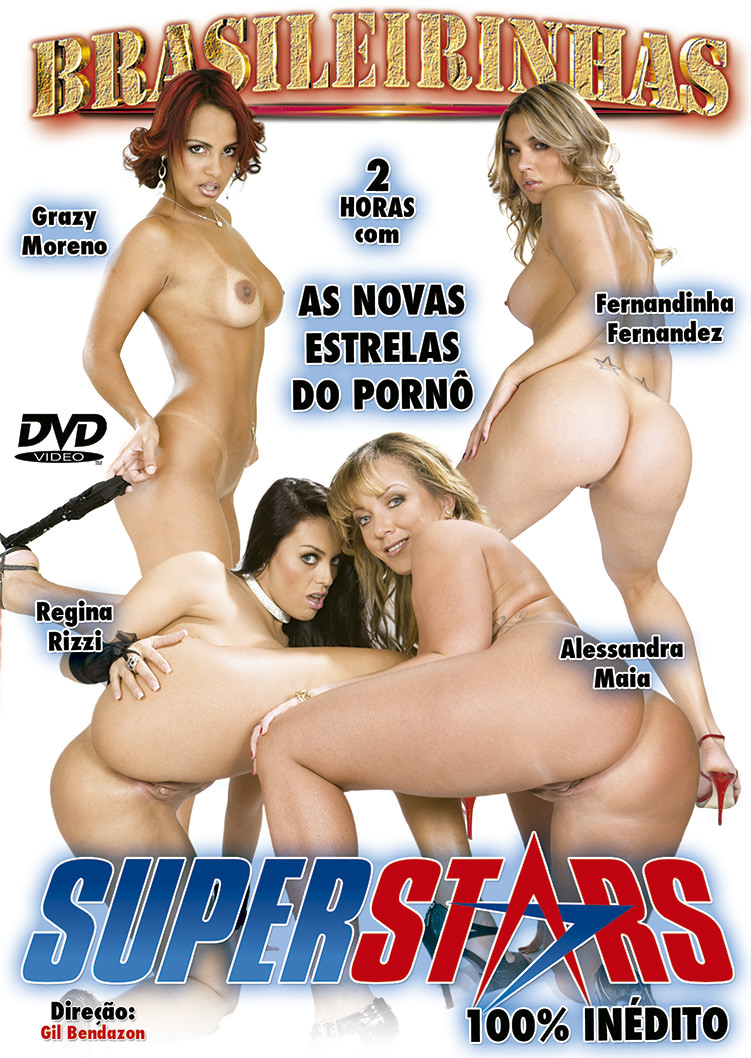 Capa Hard do filme Super Stars