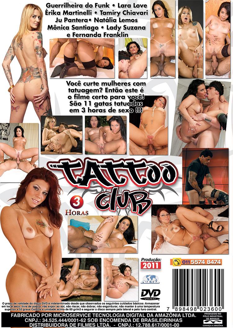 Capa tras do filme Tattoo Club