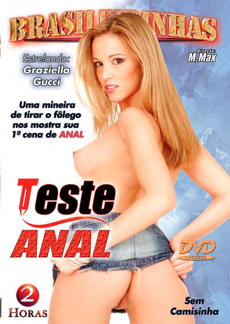 Capa frente do filme Teste Anal