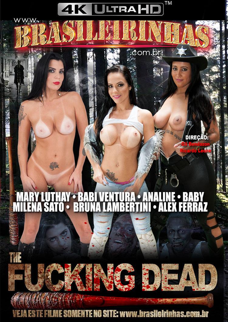 Capa frente do filme The Fucking Dead 4k